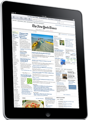iPad New York Times Image